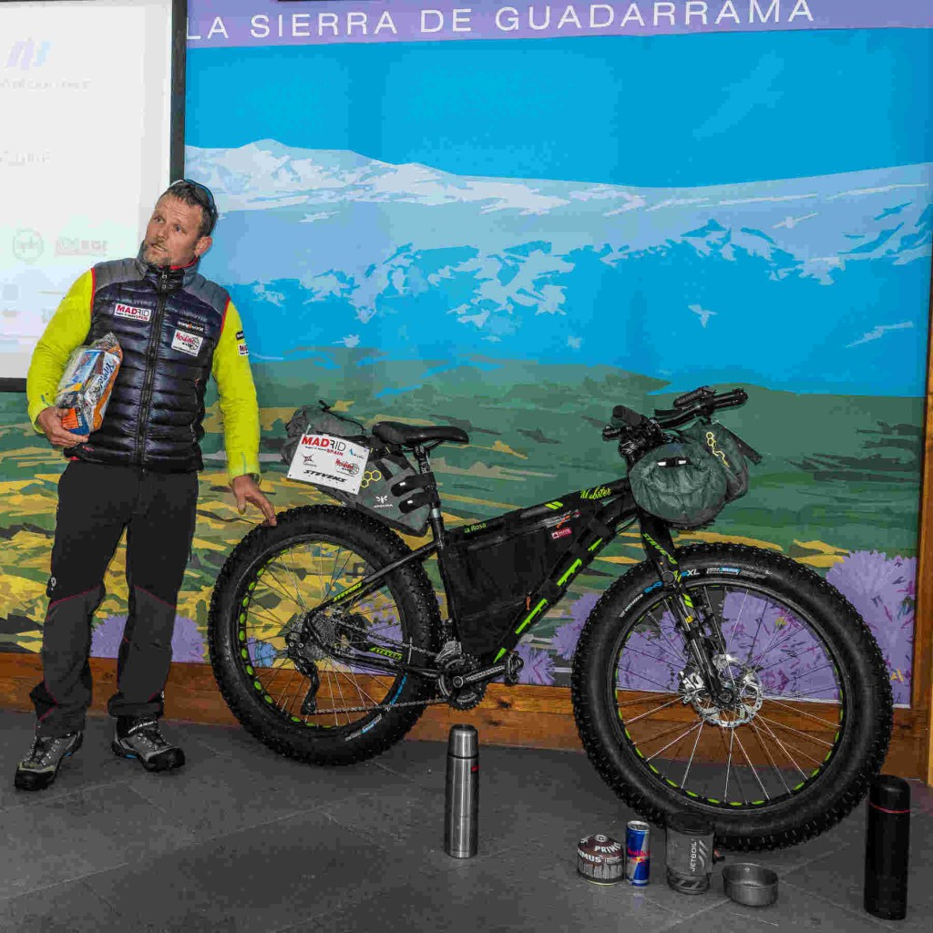 Explicando mi fat bike de Stevens