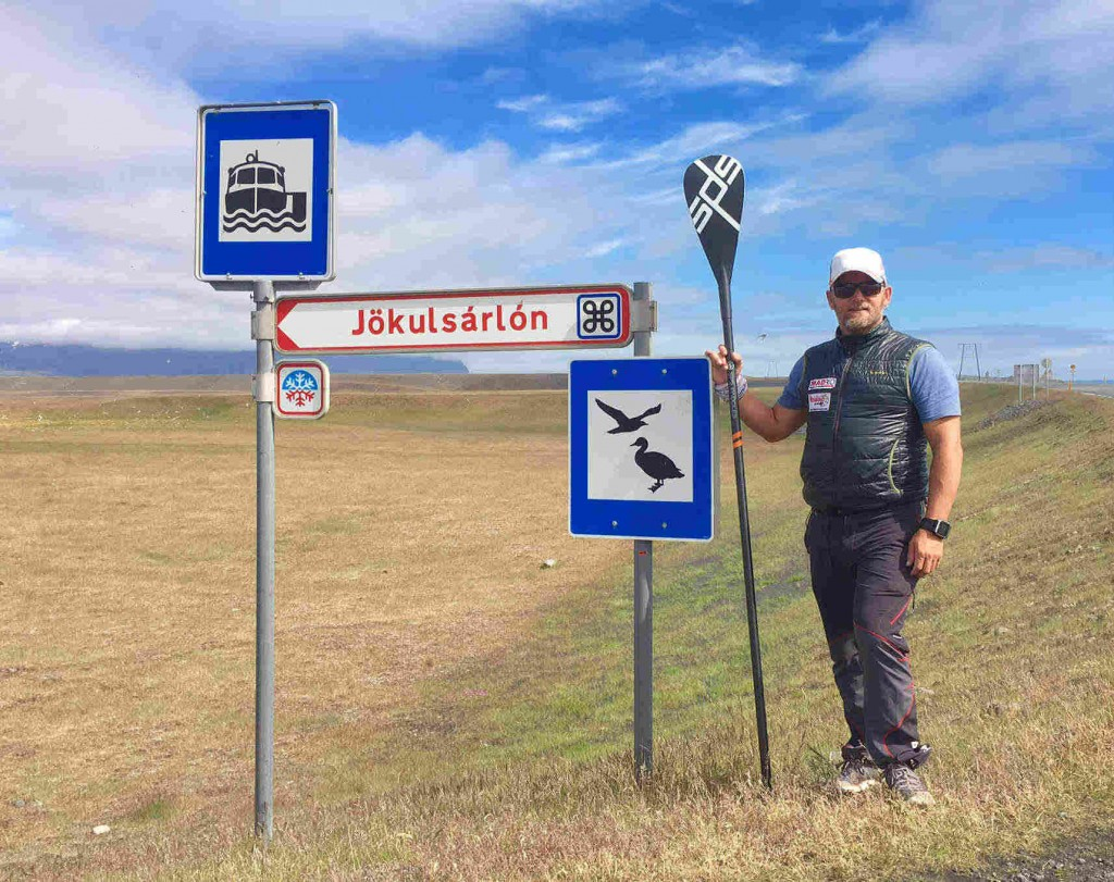 Antonio de la Rosa en Islandia