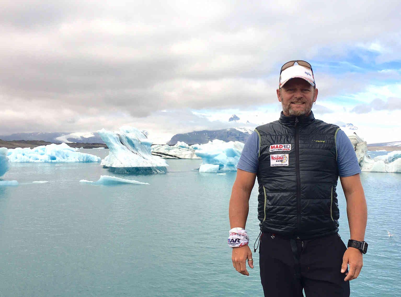 Primeras sensaciones en agua helada en Islandia