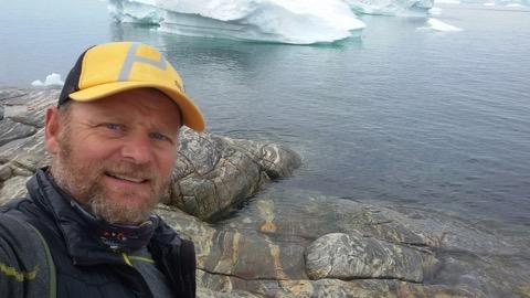 Antonio de la Rosa en Ilulissat