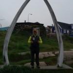 Antonio de la Rosa haciendo turismo en Groenlandia