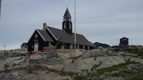 Iglesia en Ilulissat
