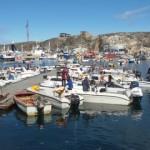 Puerto de Ilulissat en Groenlandia