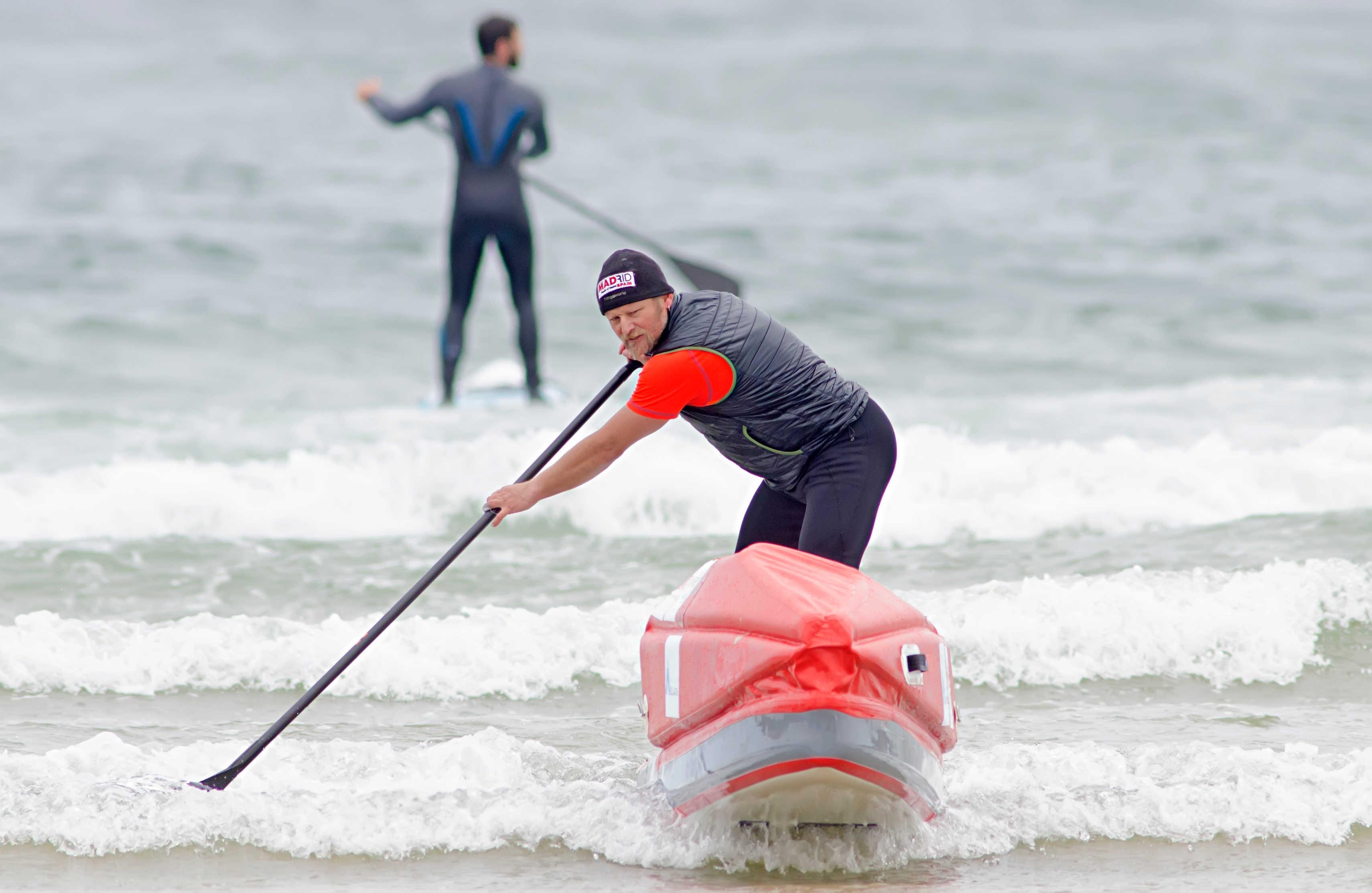 Antonio de la Rosa será el primer navegante en una tabla de paddle surf en el Círculo Polar Ártico