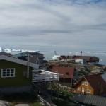 Paisaje del mar en Ilulissat