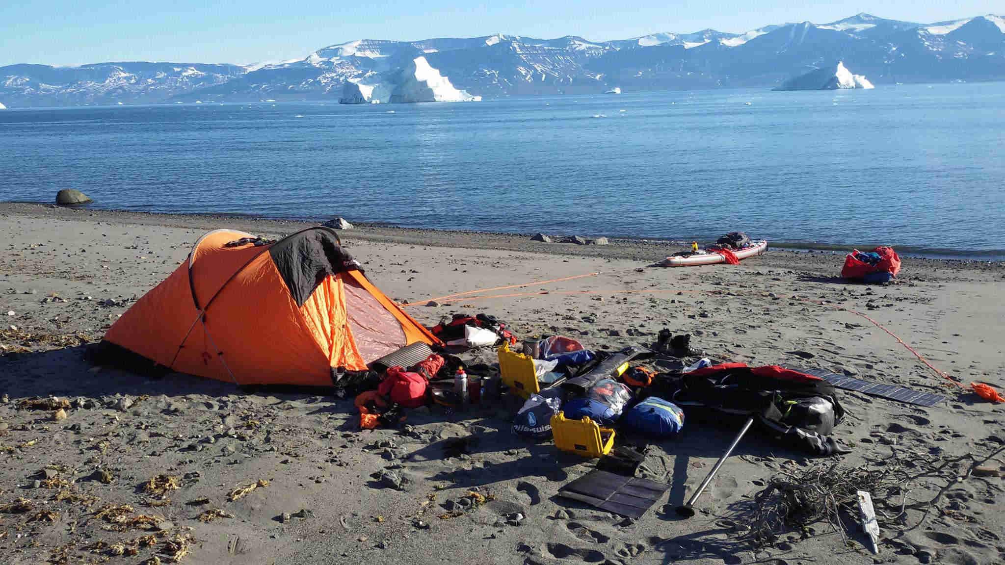En una isla pequeñita de Groenlandia