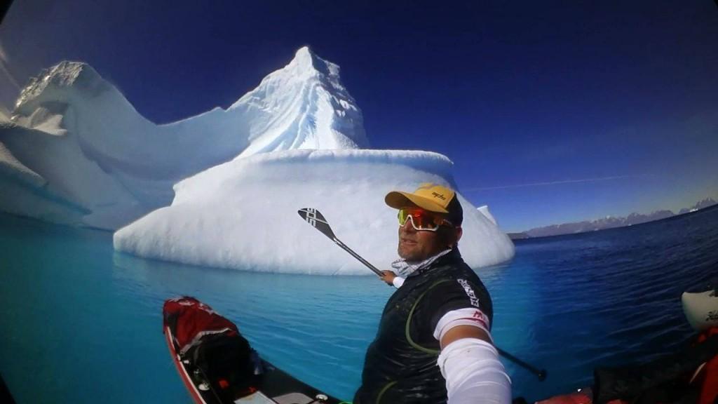 Antonio de la Rosa reto Círculo Polar Ártico