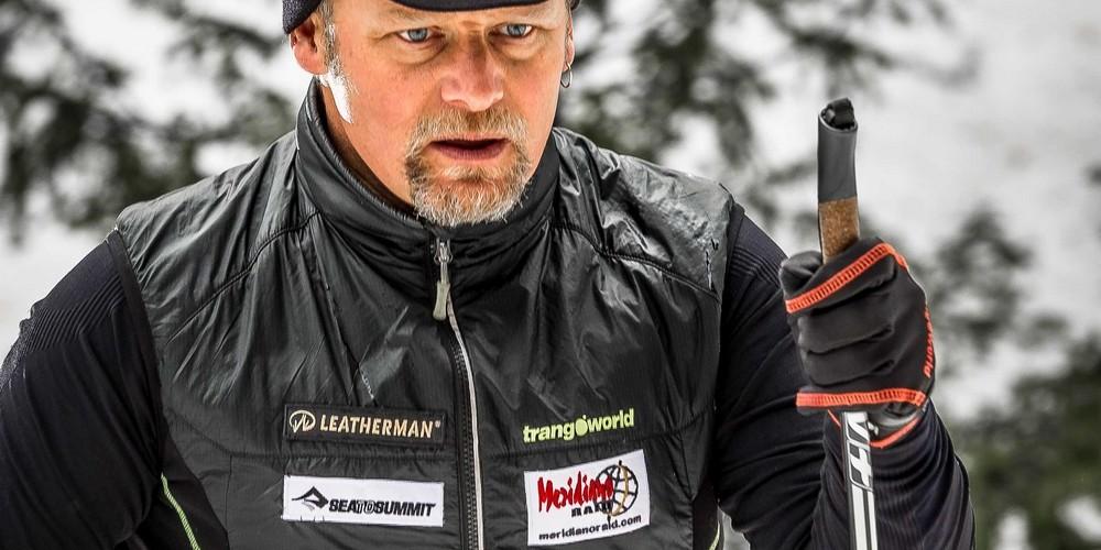Antonio de la Rosa se ve obligado a abandonar el desafío Lapland Extreme Challenge