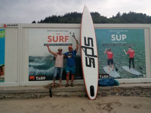 Vuelta península Ibérica en paddle surf