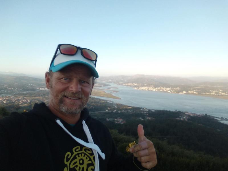 Vuelta Península ibérica en SUP llegada a Portugal