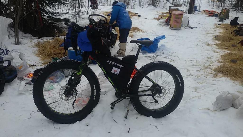 La fat bike de Stevens de Antonio de la Rosa