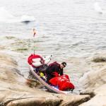 Antonio de la Rosa reto en el Círculo Polar Ártico