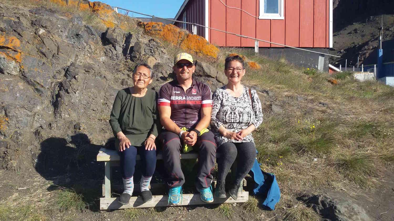 En una pequeña población groenlandesa