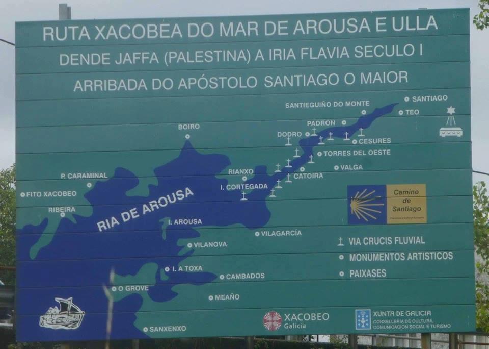 Vuelta Península Ibérica Camino de Santiago