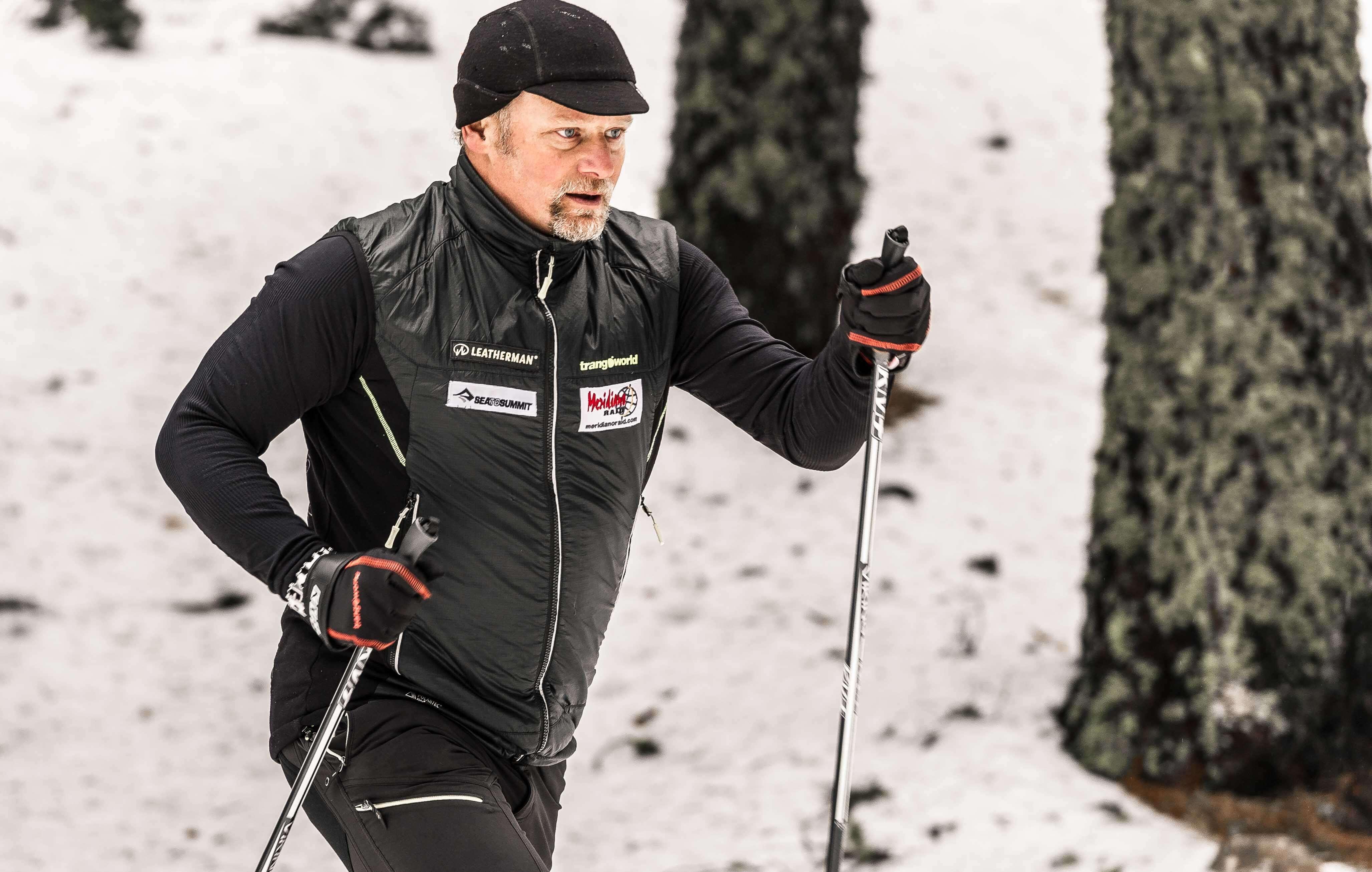 Antonio de la Rosa inició esta mañana la Lapland Extreme Challenge