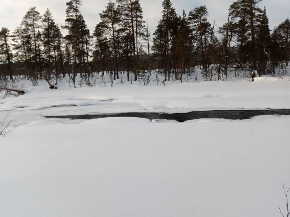 Superando la segunda mitad de la prueba para llegar con opciones a Rovaniemi
